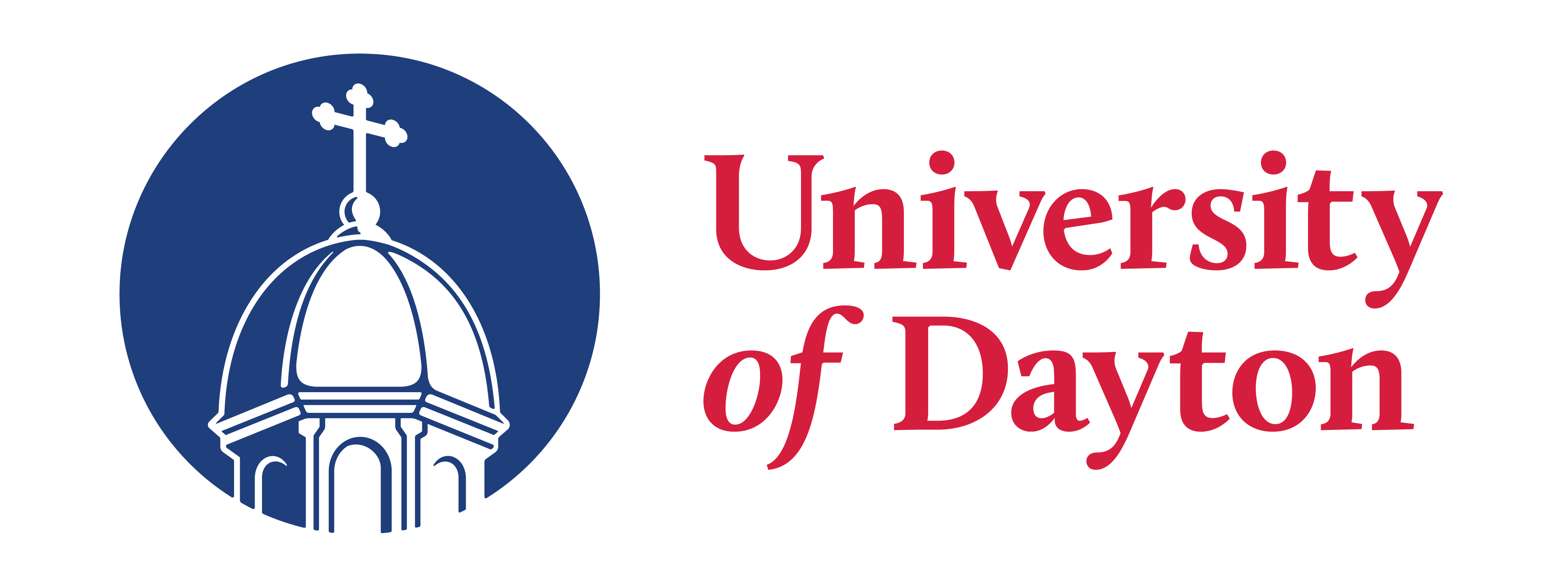 Logo for the University of Dayton
